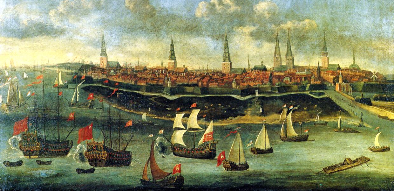 Galli Stadtansicht Hamburg